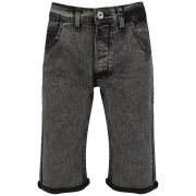 Soul Star Men's Denim Shorts - Grey