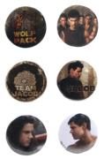 Twilight New Moon - Pin Set Of 6 Jacob Second Set