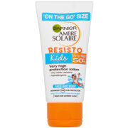 Garnier Ambre Solaire Kids Sensitive Sun Cream SPF 50+ 50ml Travel Size