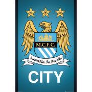 Manchester City Crest - Maxi Poster - 61 x 91.5cm