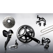 Shimano 105 5800 11 Speed Groupset - Black - 52/39