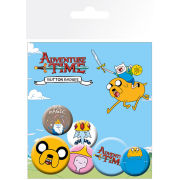 Lot de Badges Adventure Time - Jake
