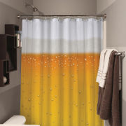 Beer O'Clock Beer Shower Curtain