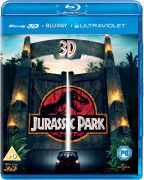 Jurassic Park 3D (enthält UltraViolet Version und 2D Version)