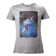 The Legend of Zelda Mens T-Shirt - Grey