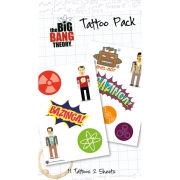 The Big Bang Theory Bazinga - Tattoo Pack