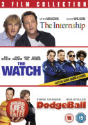The Internship/The Watch/Dodgeball Triple Pack