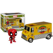 Marvel Deadpool Chimichanga Truck Funko Pop! Rides