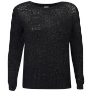 VILA Women's Purify Knitted Top - Black