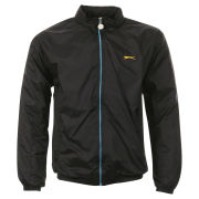 Slazenger Men's Paul Nylon Jacket - Black