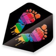 Dart Steuerfeder Metallic Plus - Füße