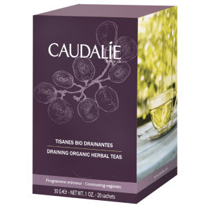 Caudalie Draining Organic Herbal Tea (20 봉지)