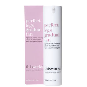 this works Perfect美腿Gradual Tan(120ml)