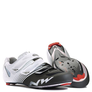 Northwave Torpedo 3S Cycling Shoes - White/Black