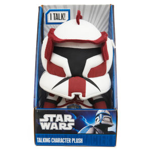 Star Wars Clone Wars - Talking Plush - Commander Fox 9 Inch
