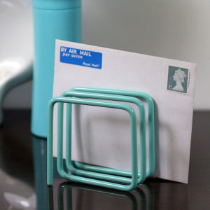 Letter Rack - Turquoise