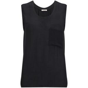 American Vintage Women's Rosa Pocket Vest Top - Carbon