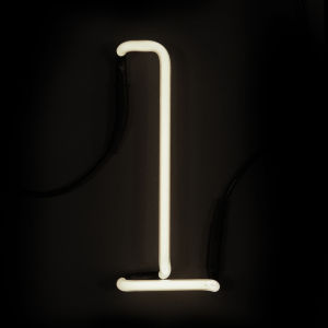 Seletti Neon Wall Light - Letter L