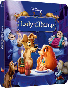 Lady and the Tramp - Zavvi UK Exclusive Limited Edition Steelbook (The Disney Collection #8)