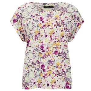 VILA Women's Filoa Floral Top - Multi