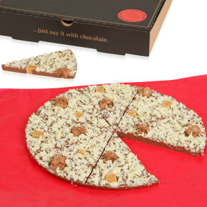 Pizza en Chocolat Croustillant -The Gourmet Chocolate