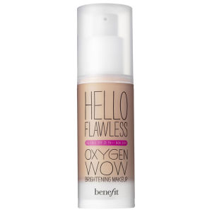 benefit Hello Flawless Oxygen Wow - Pure for Sure, Fond de Teint Fluide Ivoire (30ml)