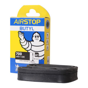 Michelin A1 Airstop Road Inner Tube 700 x 18-23mm Presta 52mm