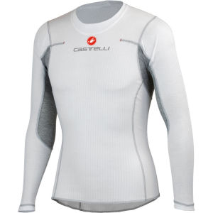 Castelli Flanders Long Sleeve Base Layer - White