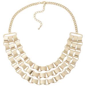 Vero Moda Women's Henriette Necklace - Pale Gold