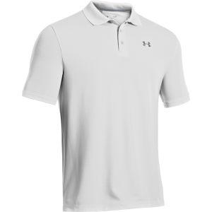 Under Armour Men's Performance Polo Shirt 2.0 - White/Grey