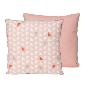 Cushion Triangles - Pink