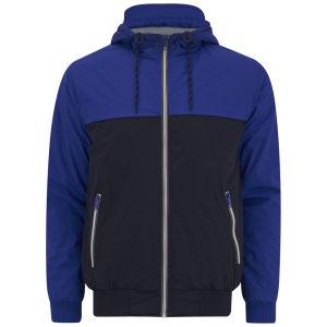 Brave Soul Men's Parakeet Jacket - Blue/Navy