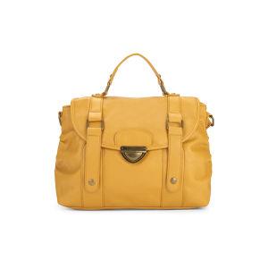 Thomas Calvi Women's Imogen Shopper Bag - Mustard