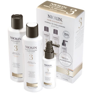 NIOXIN Hair System Kit 3 for Fine, Chemically Treated Hair (3 prodotti)