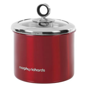 Morphy Richards Accents Small Storage Canister - Red