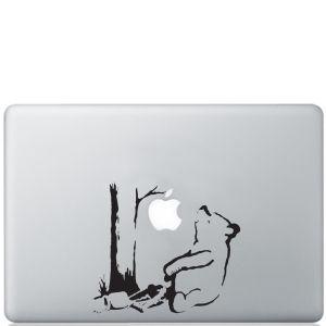 Banksy Winnie the Pooh Bear Macbook Decal