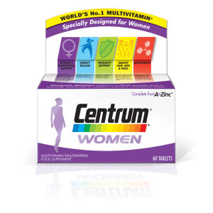 Centrum Women Multivitamin Tablets – (60 tabletter)