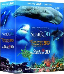 Trilogie Jean-Michel Cousteau 3D