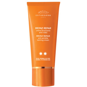 INSTITUT ESTHEDERM BRONZE REPAIR ANTI-WRINKLE TANNING CREAM - NORMAL TO STRONG SUN (50ML)