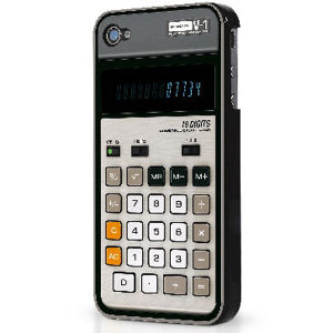 Calculator Styled Cover for iPhone 4