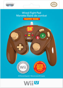 Super Smash Bros Officially Licensed Wired Fight Pad - Donkey Kong