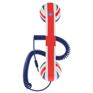 Pop Phone Retro Handset - Union Jack