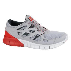 Nike Men's Free Run 2 Running Shoes - Wolf Grey