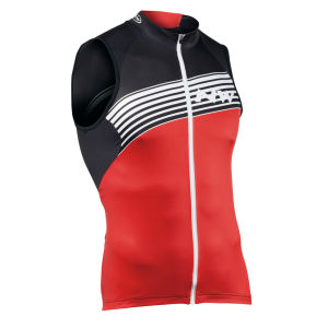 Northwave Bullet Sleeveless Jersey - Red/Black