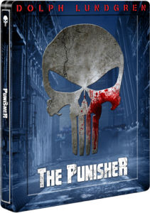 Punisher (Dolph Lundgren) - Steelbook Exclusif pour Zavvi (Limité à 3000 Copies)