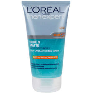 L'Oreal Paris Men Expert Pure & Matte Deep Exfoliating Wash (150 ml)