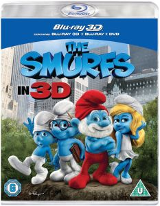 The Smurfs 3D (Blu-Ray en DVD)