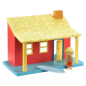 Bob The Builder Ready Steady Build Playset mit Figur - Surf Hütte