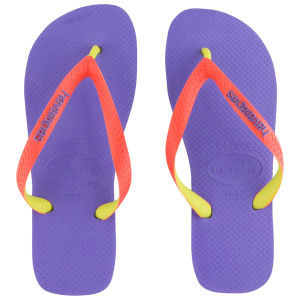 Havaianas Women's Top Mix Flip Flops - Violet
