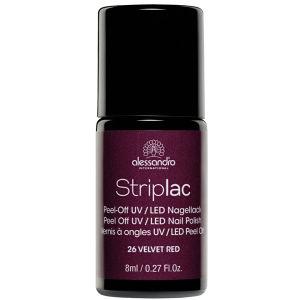 Striplac Velvet Red UV Nail Polish (8ml)